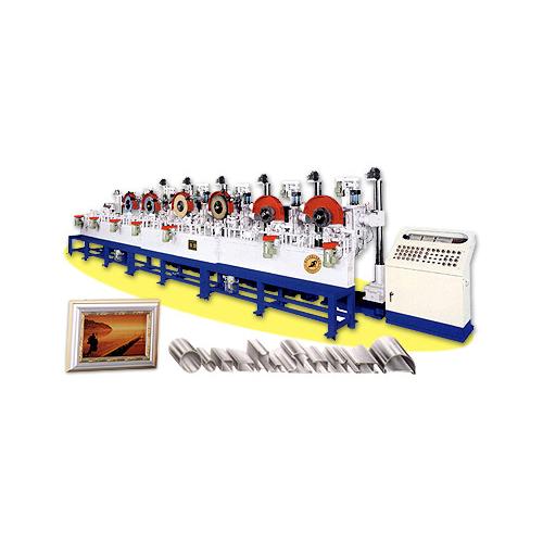 滾輪輸送式自動砂光、抛光機