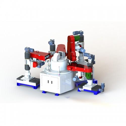 數控式自動砂光圓盤機