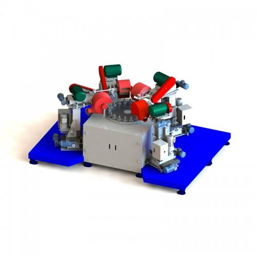 圆盘式(手表把的)自动抛光机