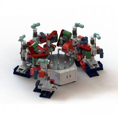 圆盘式自动抛光机