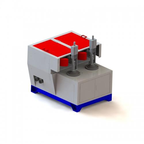 數控四軸雙工位砂磨機